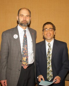 SDUSA Chair Rick D'Loss and Buffalo Council member Michael LoCurto
